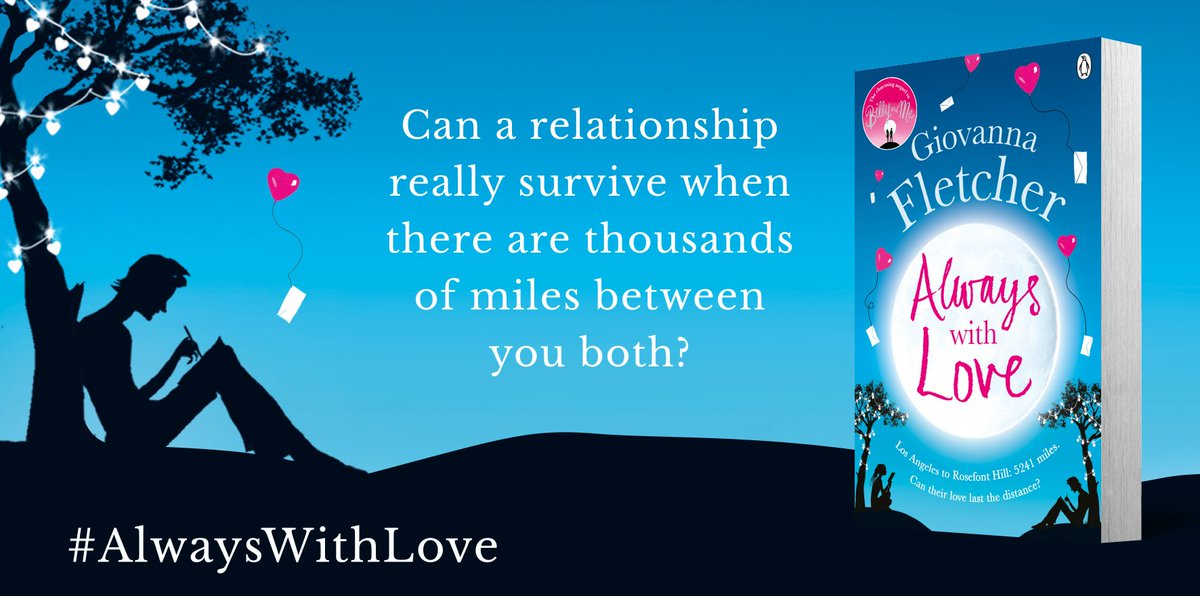 Only THREE DAYS to go until #AlwaysWithLove is published. Each day I'll be giving away signed copies. RT to win! ❤️x https://t.co/pDWkO8uIyD