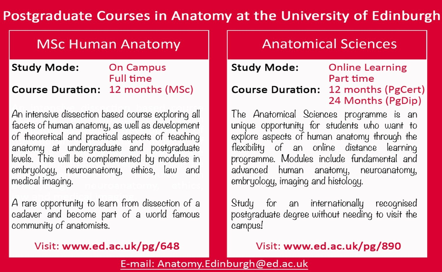 Outstanding Anatomy Courses Online Inspiration - Anatomy and ...