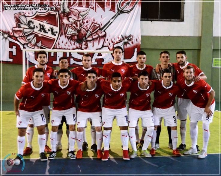 Goleada del Rojo en Futsal