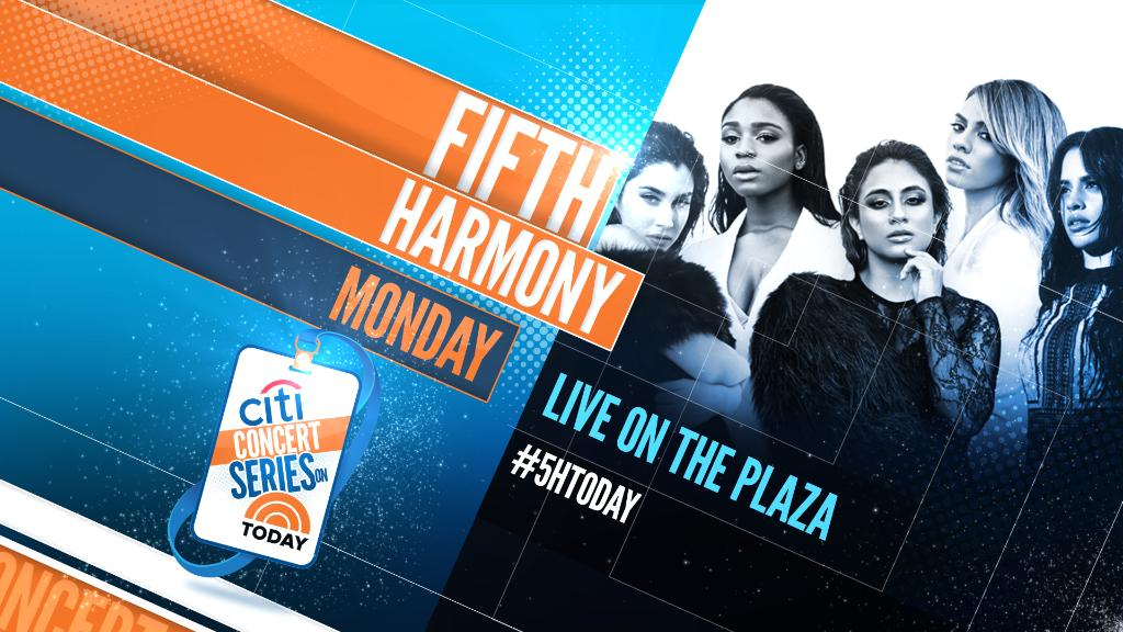 Summer is heating up when @FifthHarmony takes over the @TODAYshow Plaza. #5HTODAY https://t.co/1spe2Likyj https://t.co/wWc3BMfqjr