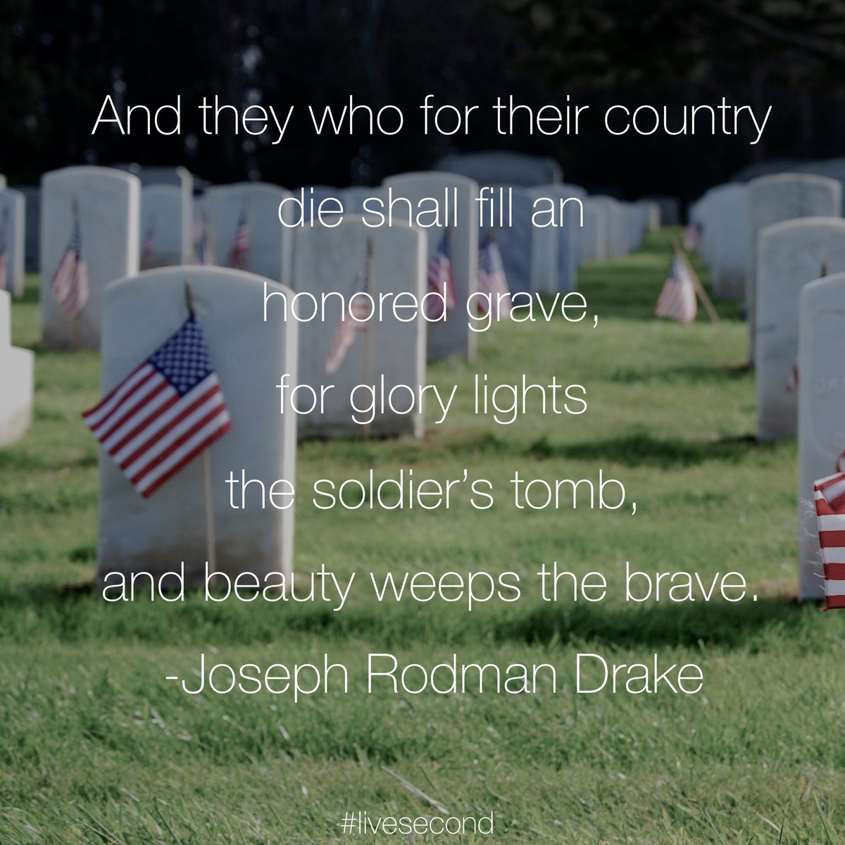We are eternally thankful for the soldiers who have made the ultimate sacrifice for our country #memorialday https://t.co/R0TEaA5jdA