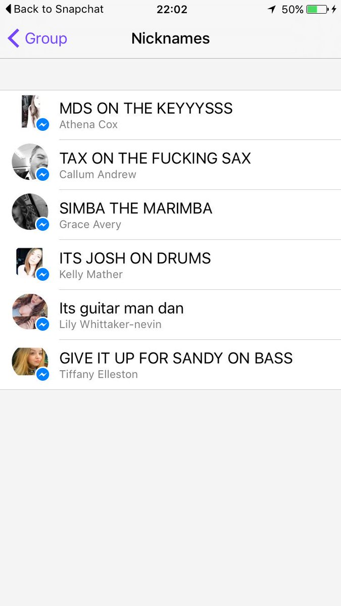 Madison : Funny guy group chat names