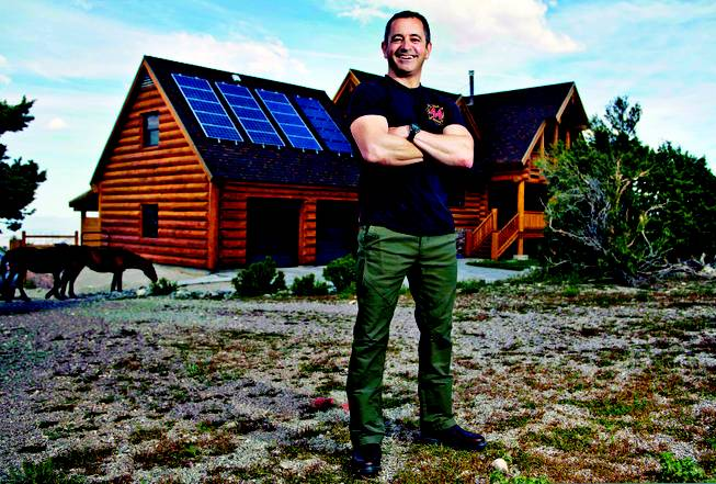 Fireman is off NV Energy's grid — and on a mission for solar power. via @LasVegasSun
