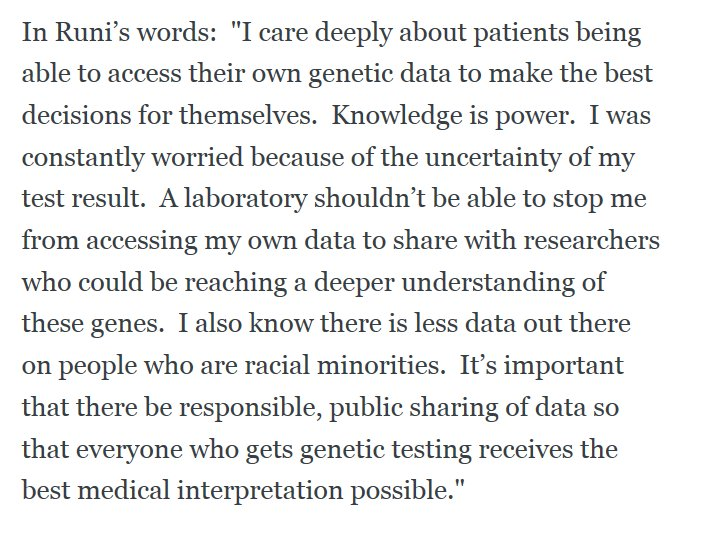 """Our Genes, Our Data."" Via @ACLU.  https://t.co/baJlEJkQg6 https://t.co/qr2Tku4tiA"