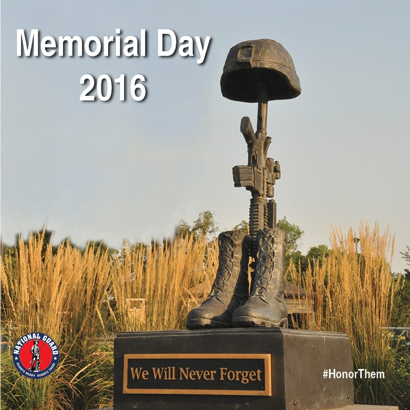 This Memorial Day, join us in remembering the service and sacrifice of the fallen. #HonorThem https://t.co/dt9TEGQqkO