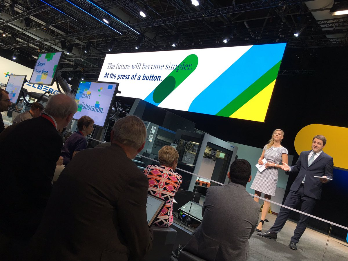 #smart #Heidelberg #show to celebrate #smart #printing for perfect biz #success #drupa2016 #print https://t.co/HZNWKDqmR8
