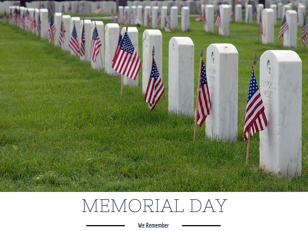 Remembering the sacrifices of those who lost their lives protecting our freedom. MemorialDay2016