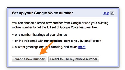 how to set up google voice trunk