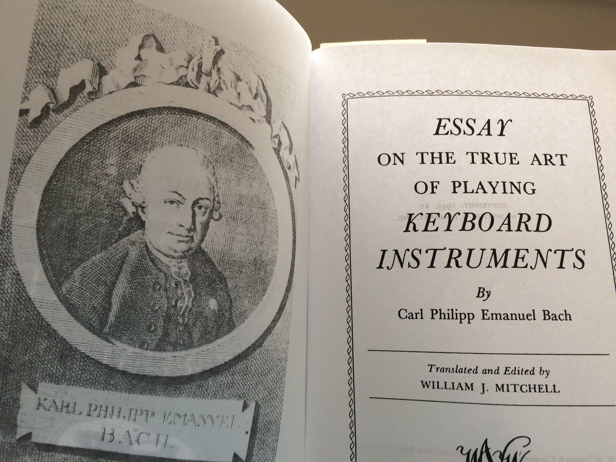 cpe bach essay on the true art pdf The many ramifications of bach's comprehensive essay have been neatly explained and annotated in a manner that makes the essay on the true art of playing.