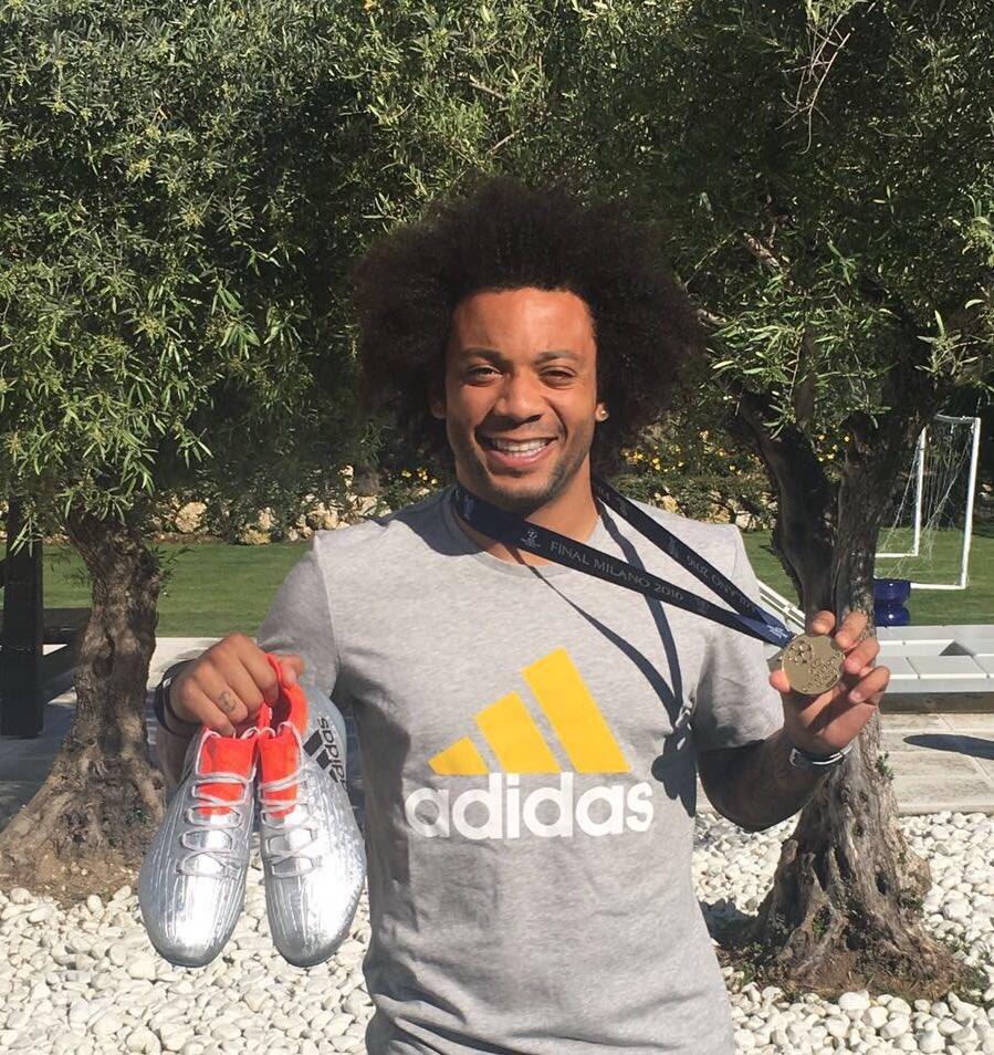 Marcelo sorteará su medalla de la UCL