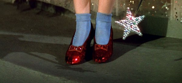 7 things you never knew about the ruby slippers from ' The Wizard of Oz': https://t.co/8eLqD4Fw7s https://t.co/zjQ23TeXCR
