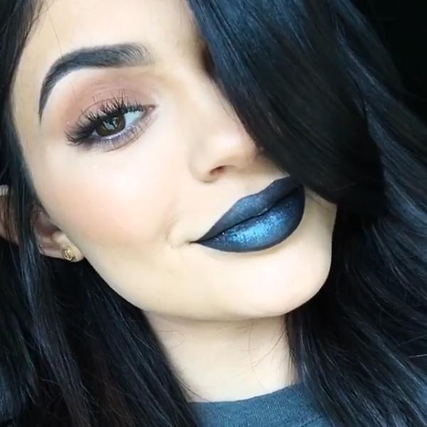 Kylie Jenner teased her new lip kit shade on Instagram https://t.co/hCP5EMqria https://t.co/W45tfP9GU8