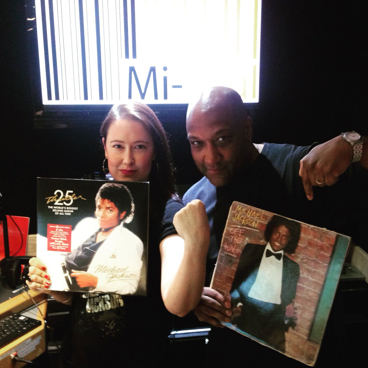 2nite on #TheBIGRnBShow on @MiSoulTweets radio it's a @michaeljackson album off special #OffTheWall V. #Thriller https://t.co/urP5JCz57i