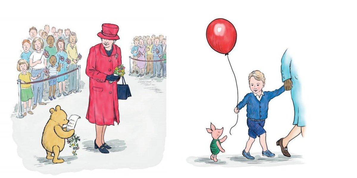 Fofura em dose dupla! Príncipe George aparece em novo livro do Ursinho Pooh https://t.co/JXBrk7WmTy
