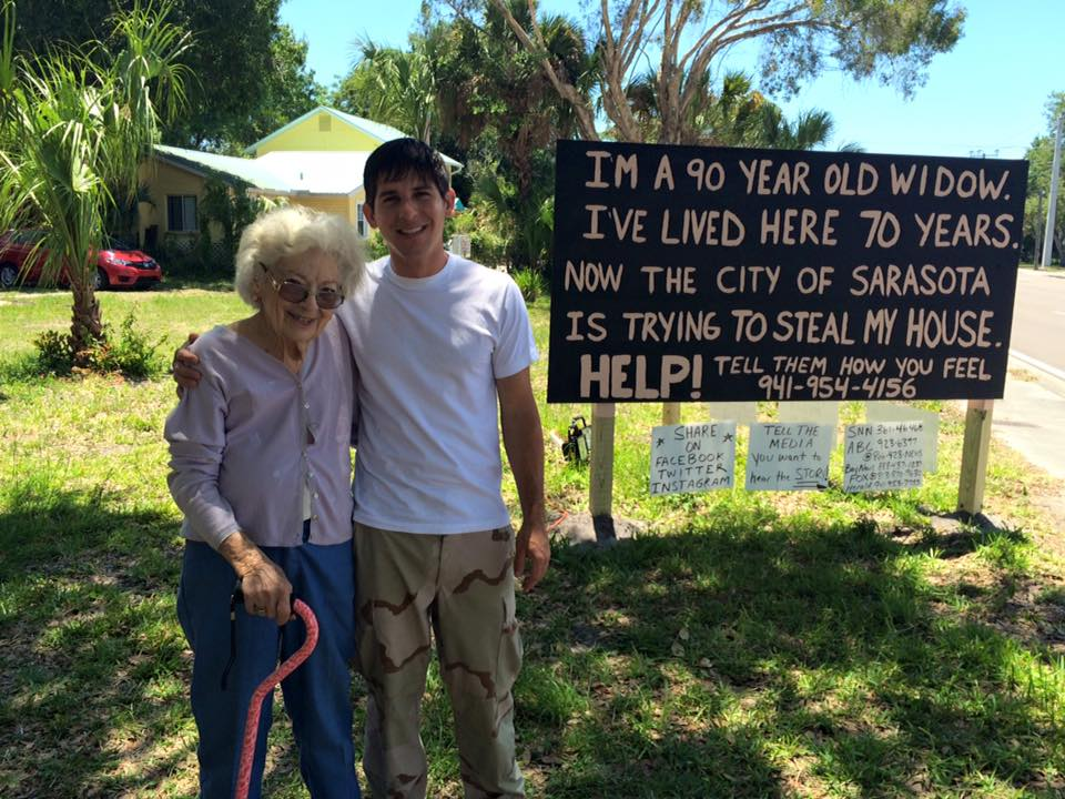 Sarasota widow of a Veteran fights to save her home