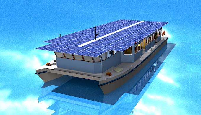 RT @AssaadRazzouk #Solar-Powered Ferry Debuting In India Will be Pollution-Free and Cost-Competitive  https://t.co/CU8YRP1hJQ #climate