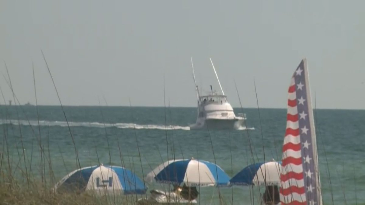 Man hospitalized after near drowning on St. Pete beach