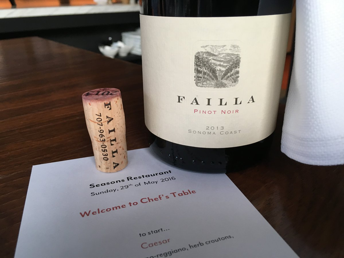 2013 @FAILLAwines Sonoma Coast Pinot showed *tremendously* well at @FSResClubAviara last night. Highly recommended. https://t.co/QlDnlNJm1G