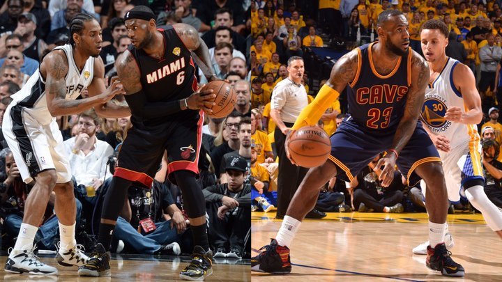 ESPN On Twitter Heat Spurs Cavs Dubs From 1990 2013 There Was