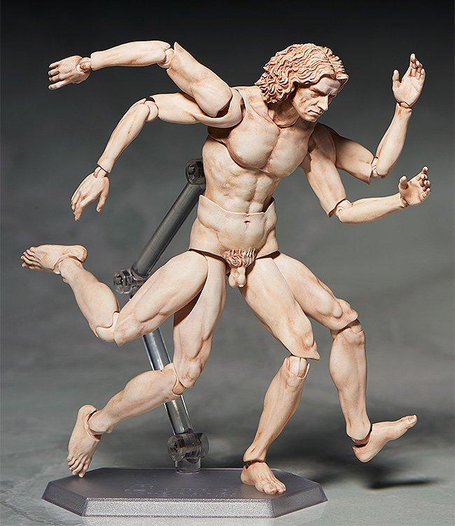 ◎天才「レオナルド・ダ・ヴィンチ」が描いた人体図が えらく楽しげに動き出します(笑) ◆figma テーブル美術館 ウィトルウィウス的人体図  フリーイング【12月予約】  https://t.co/Dbwv62NXTI https://t.co/YJllUdgPHl