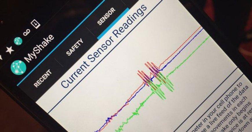 MyShake Terremoto trasforma il tuo Smartphone in Sismografo