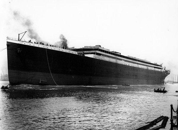 Foto storica Titanic
