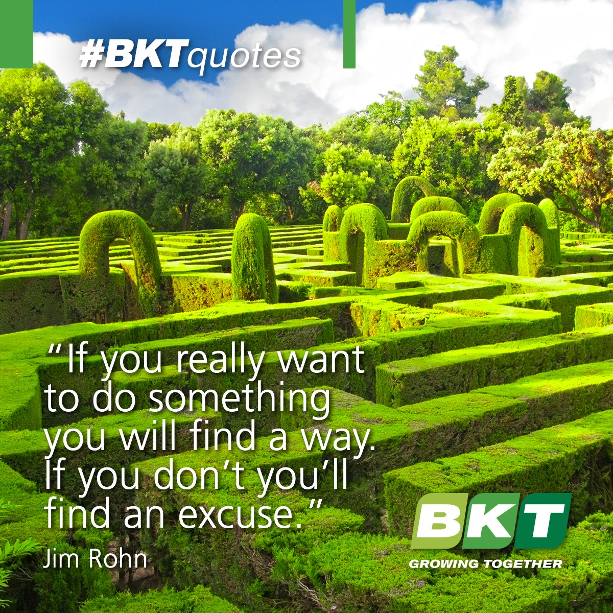 At BKT we think nothing's impossible. If you don't try you'll never know! #BKTquotes #quote https://t.co/l3KNIuNj0C