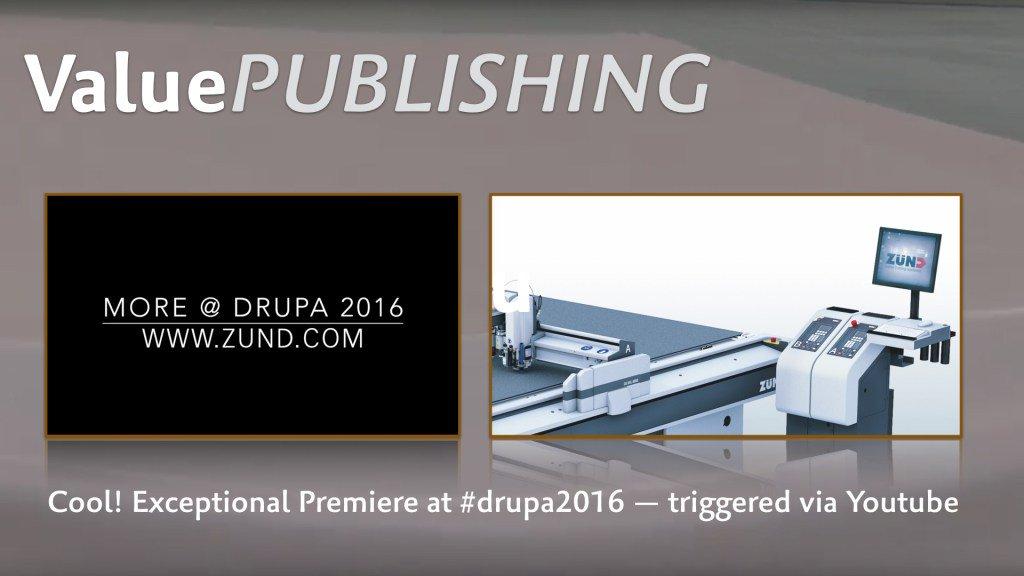 drupa2016 – in medias res: Digital Cutting 4.0 | Made byZünd! https://t.co/X2wrT99qqW https://t.co/kCwvcmDdQw