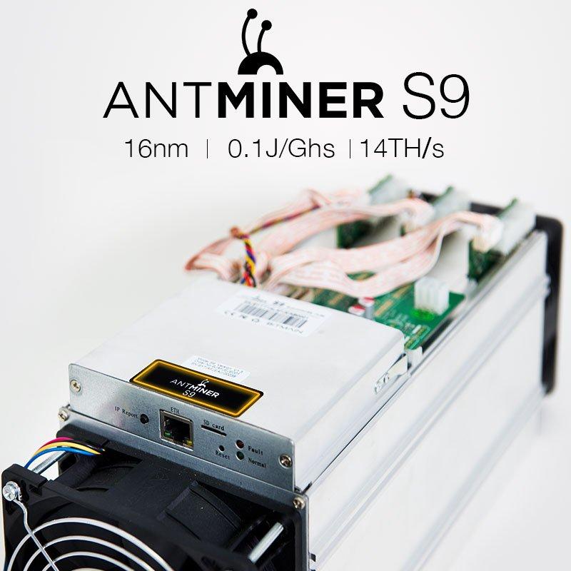 система antminer s9