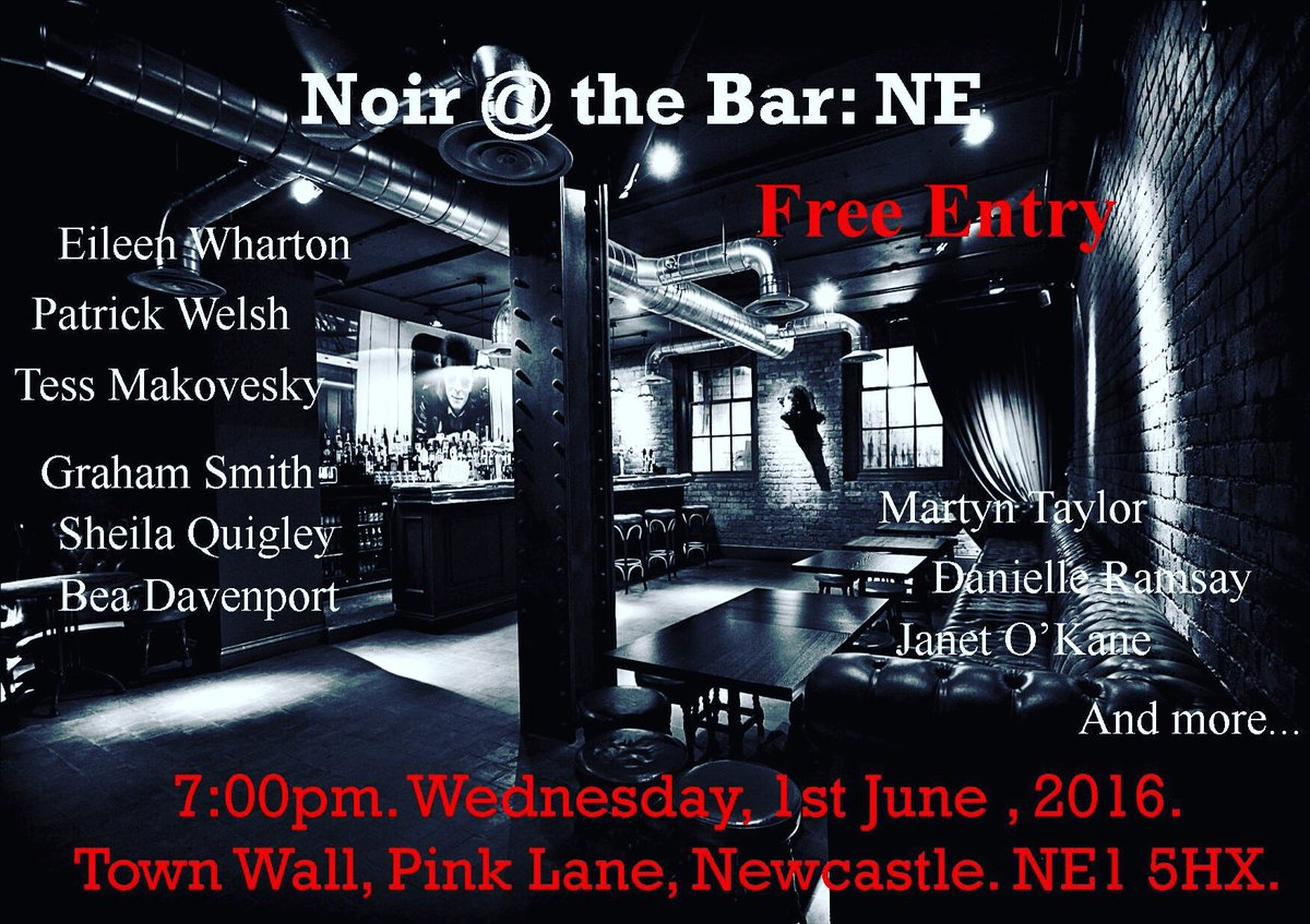Happening tomorrow! #noiratthebarNE https://t.co/or2fZTkgsr