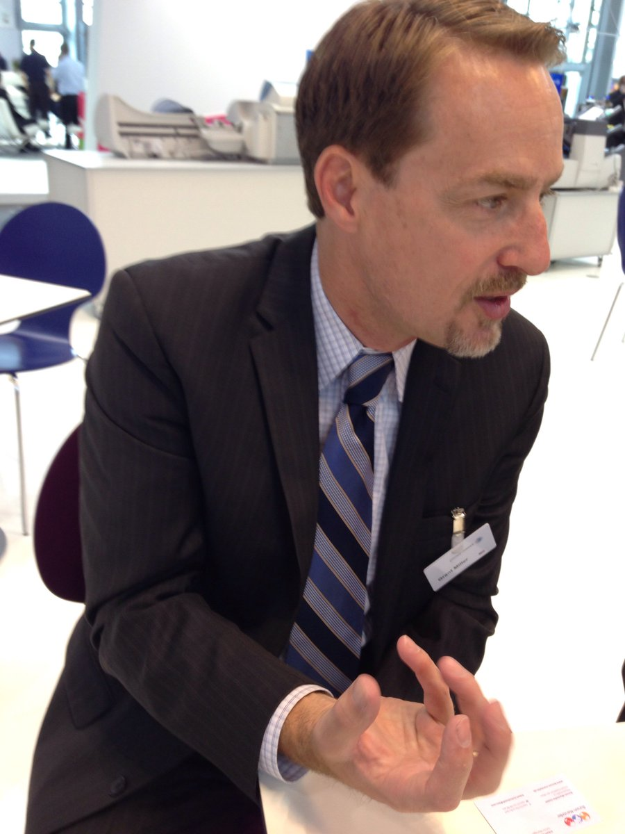 If you look around the booth, it is all about reinventing mail says @Grantmillerus #drupa2016 https://t.co/g10d6VKUyX