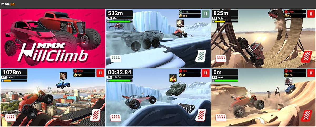 hill racing на андроид