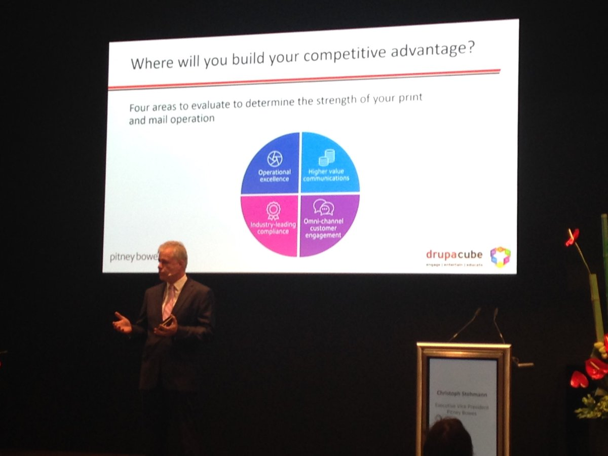 PB'er Christoph Stehmann explains 4 areas to evaluate to determine the strength of your print & mail ops #drupa2016 https://t.co/neTmgWv17J