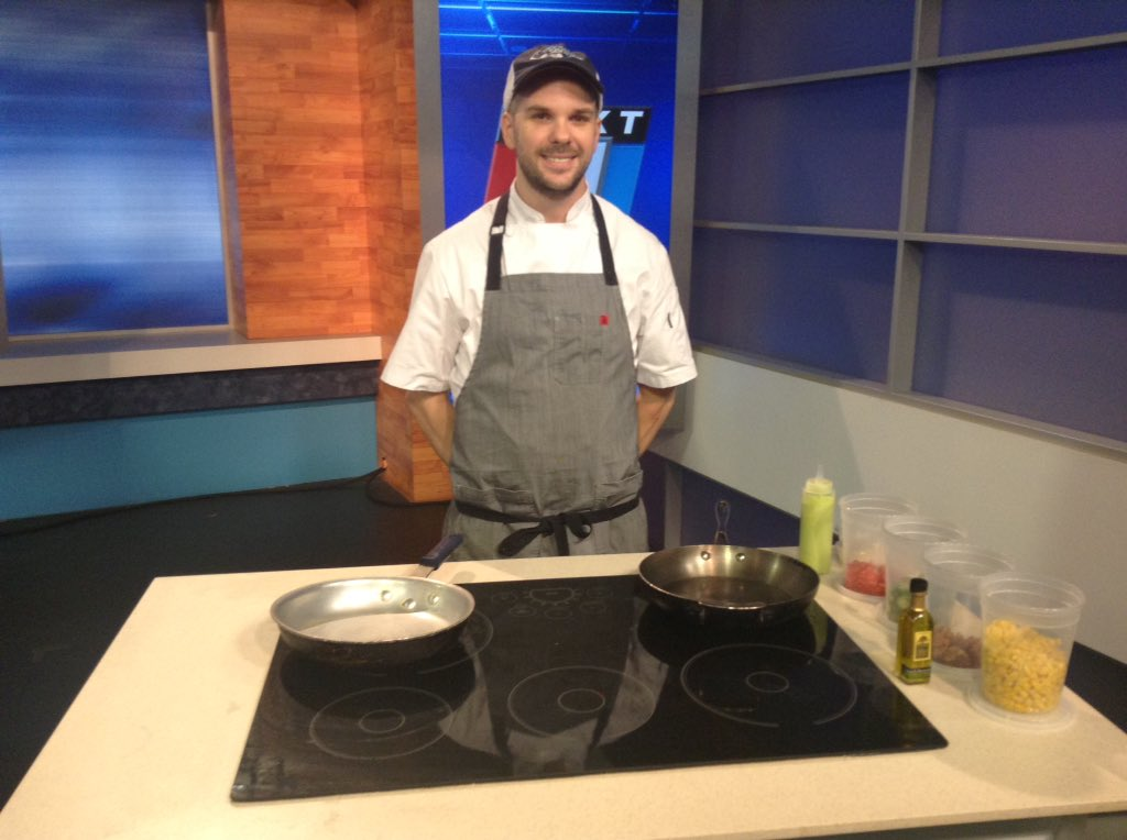 Chef Jeff from the Georgia Sea Grill joins us at 9:45 with a great fish dish for summer. @wjxt4