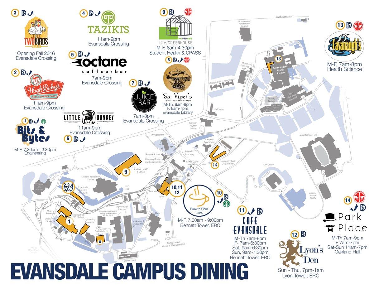 wvu evansdale campus map wvu evansdale campus map