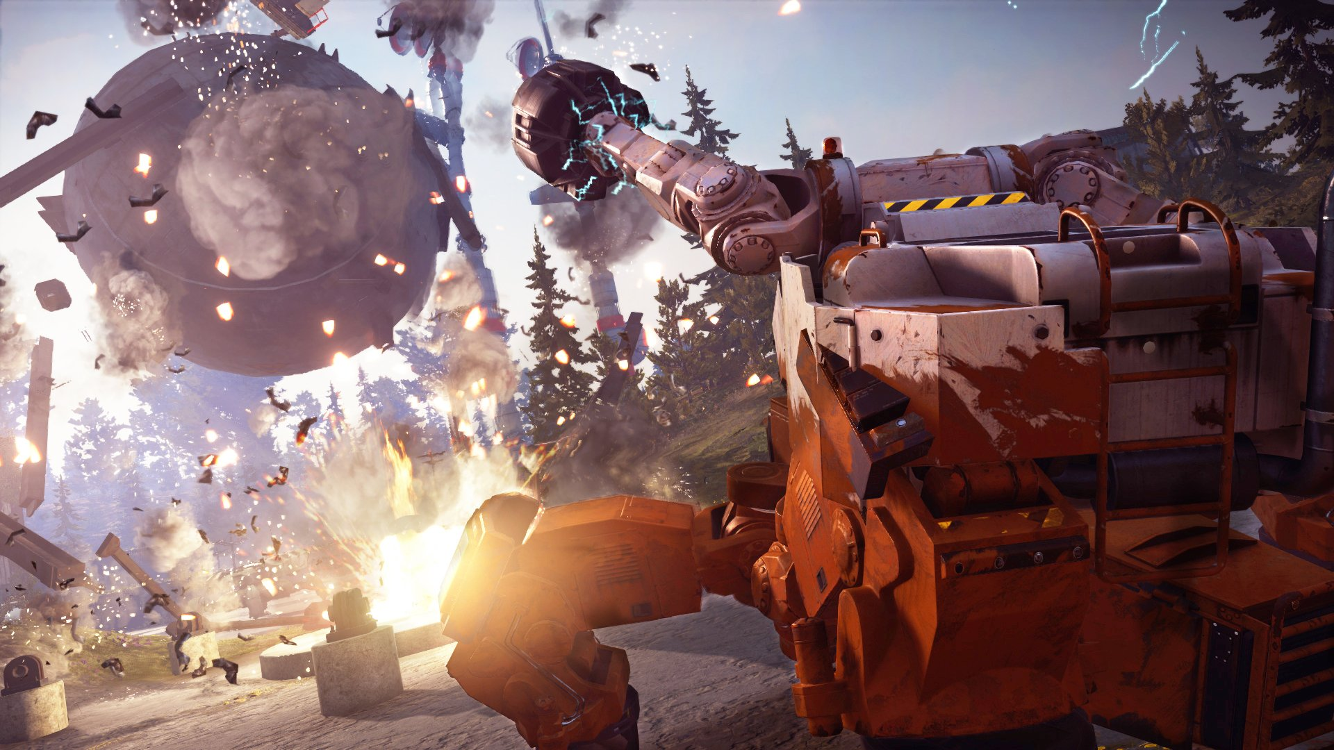 Just Cause 3 'Mech Land Assault' DLC Launch Trailer 3