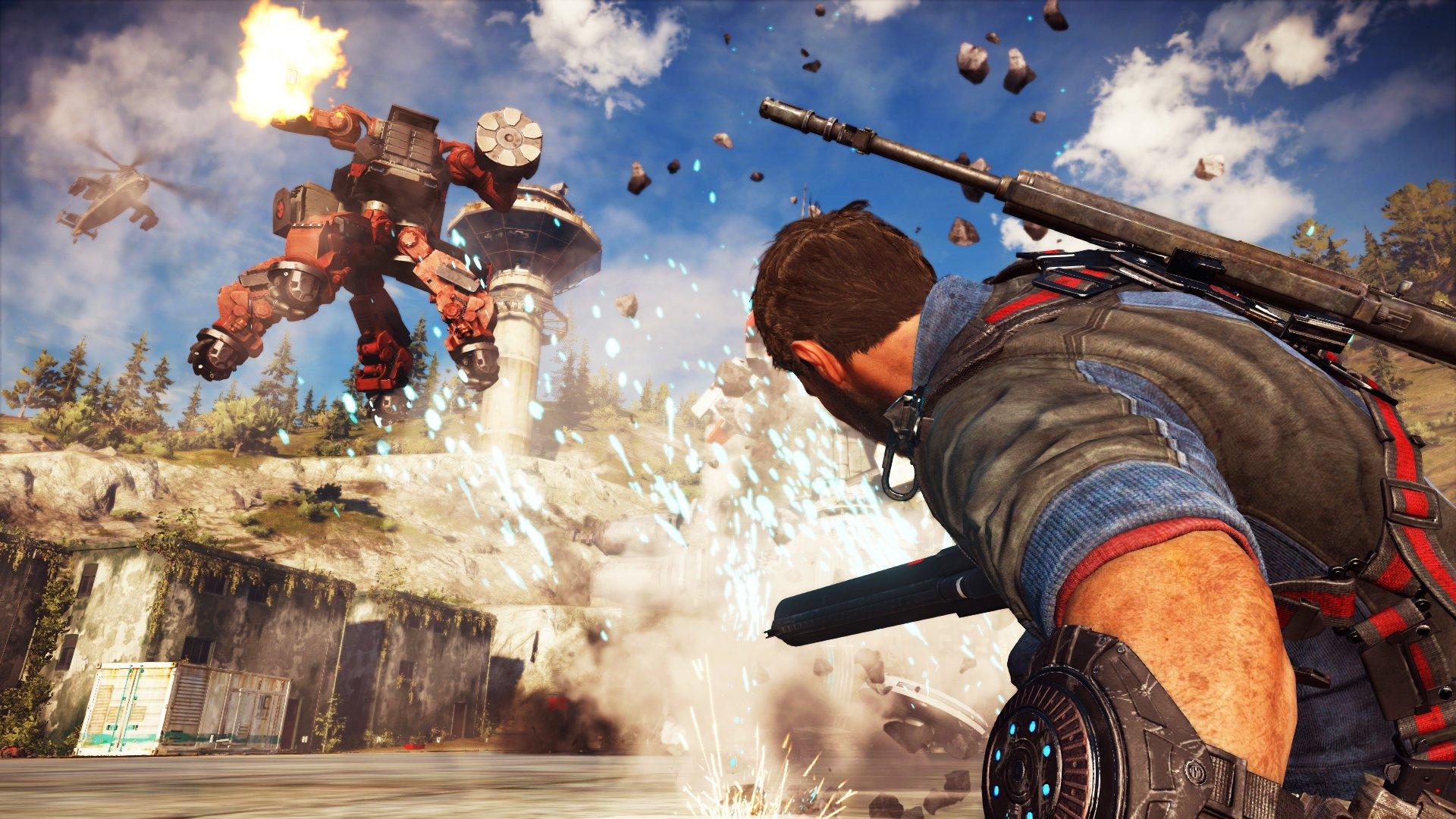 Just Cause 3 'Mech Land Assault' DLC Launch Trailer 4