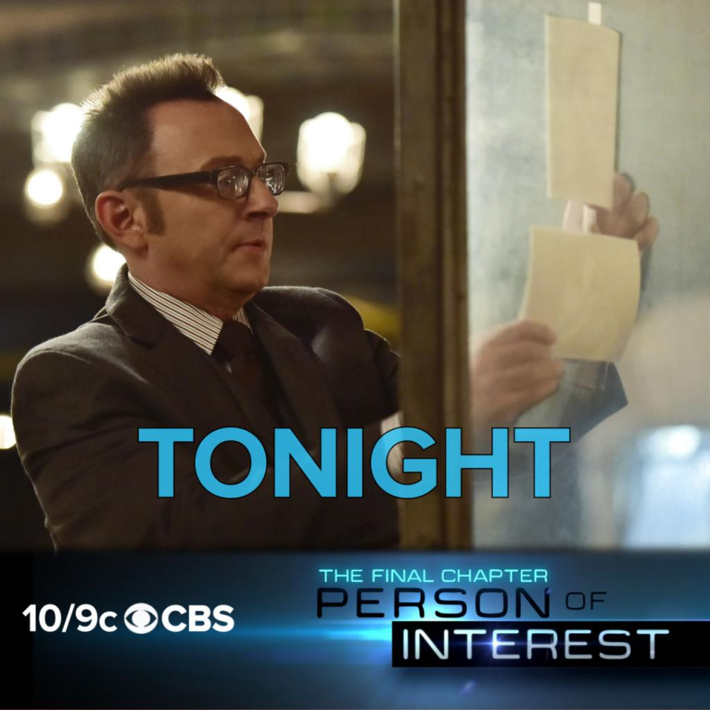 TONIGHT is the 100th episode of #PersonOfInterest!
