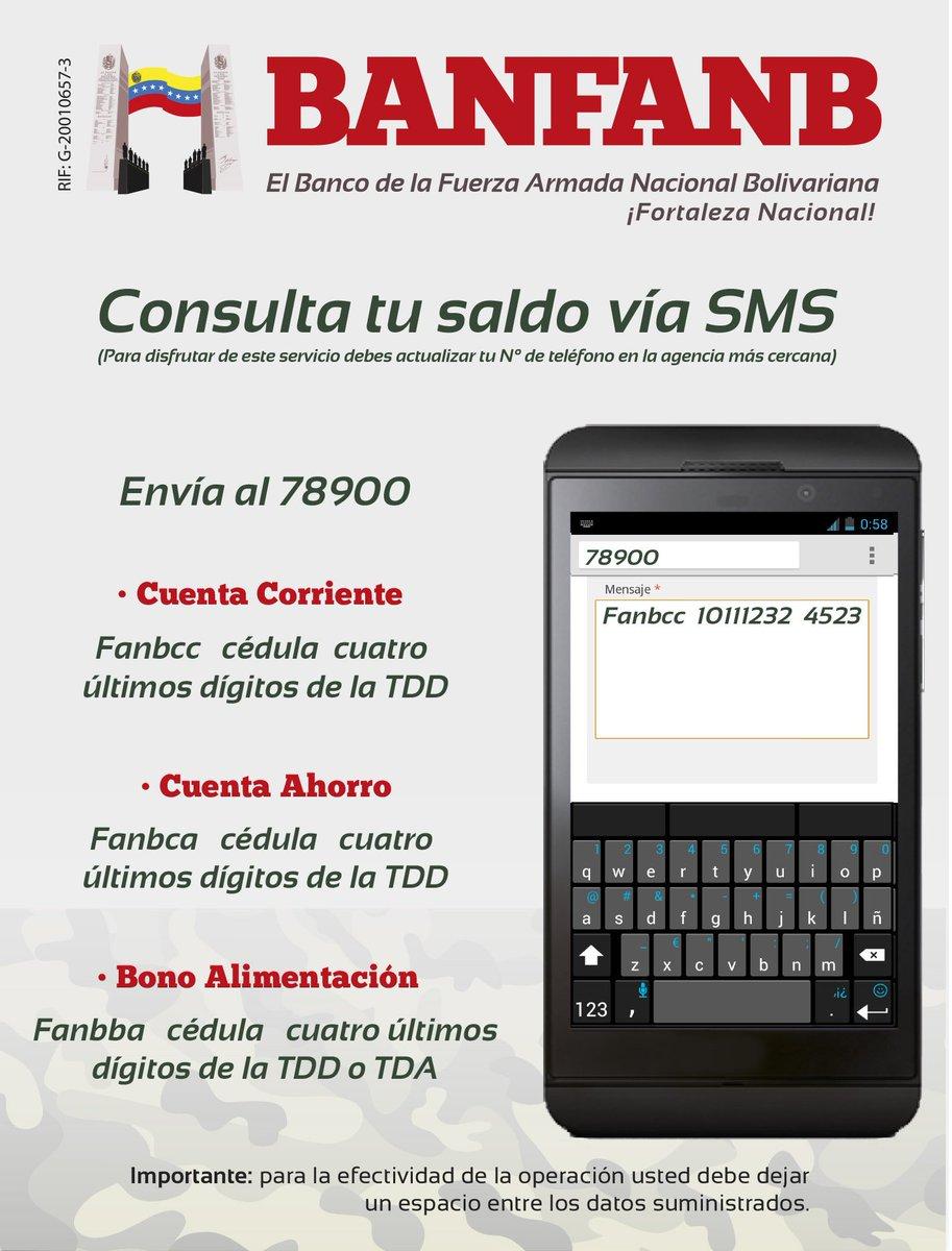 Consulta banfanb for Banesco online consulta de saldo cuenta de ahorro