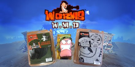 It's competition time! 3 winners will get their very own Worms Plushie & Tee! Enter here -> https://t.co/Q6BurTgkhx https://t.co/1f7u9OnUxI