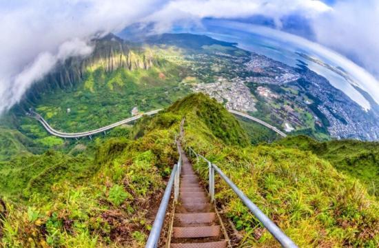 نتيجة بحث الصور عن سلالم هايكو، هاواي
