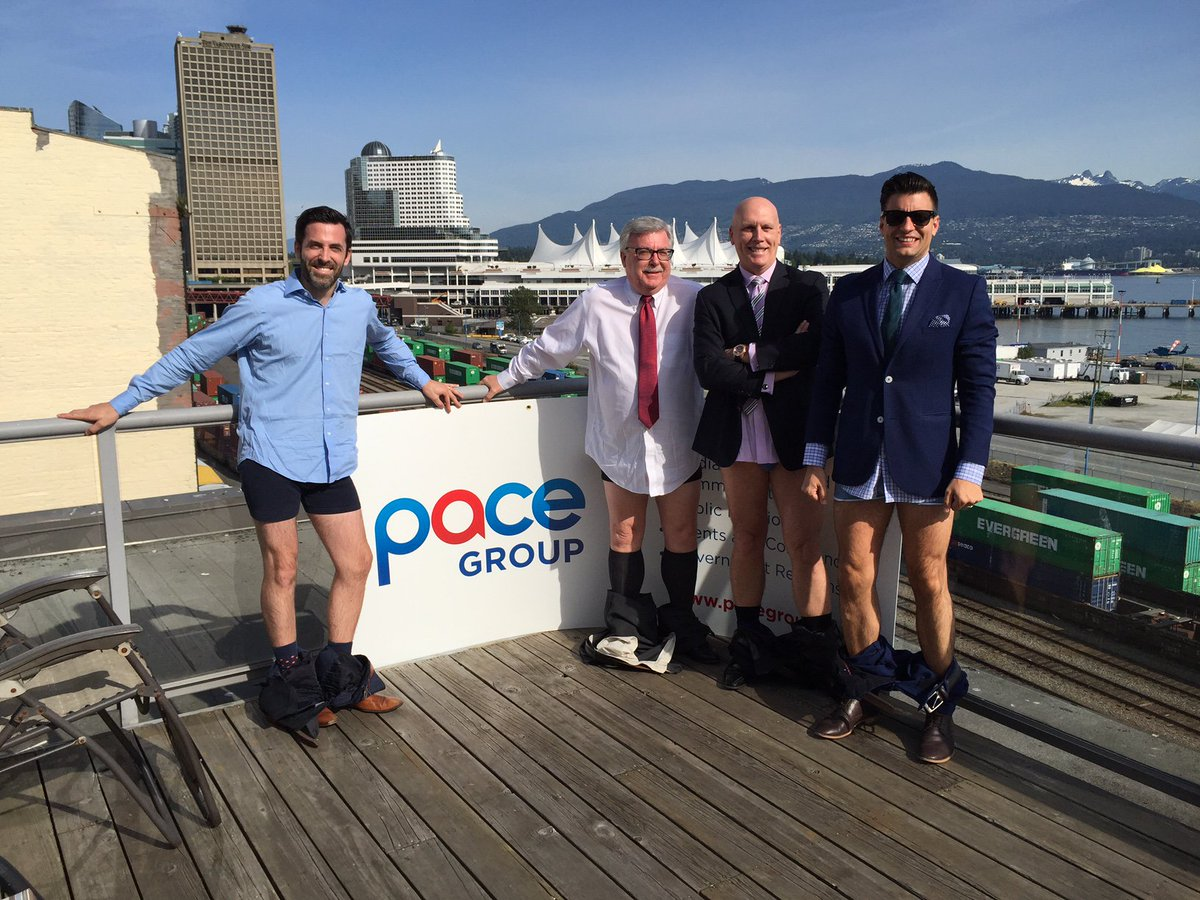 Drop your pants and support a great cause! @ProstateCancerC #PantsOffYVR Challenge others, but tickets! https://t.co/e6wqjjKwsm