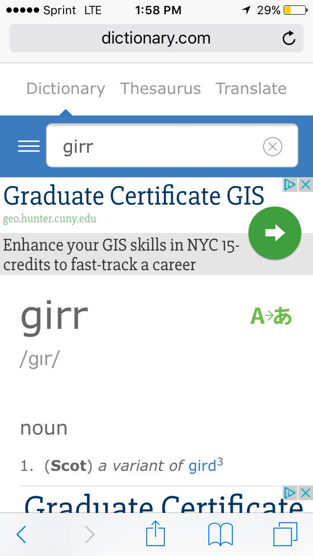 Teddy Brrr On Twitter If Girr Is Another Word For Gird Wouldn T