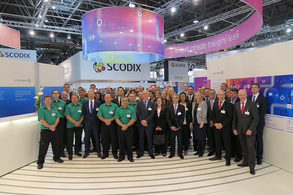 You need awesome people on 667 m² - we proudly present: The @PitneyBowes crew #drupa2016 https://t.co/b8Jc7ftQsz