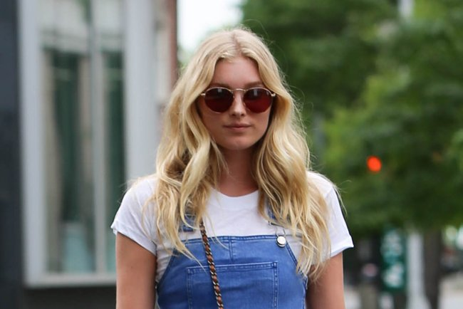 b21abeff0bea elsahosk s sexy overalls amp chanel bandana flap bag are curing our tuesday  blues .