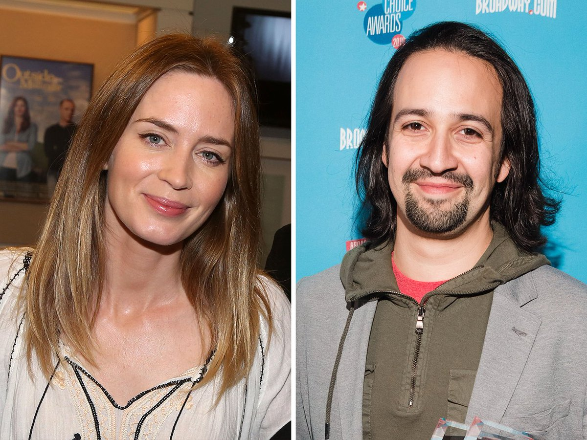 It's official! @Lin_Manuel & Emily Blunt to lead MARY POPPINS RETURNS; Release date set: https://t.co/ibnLPBkMrc https://t.co/LdYqzTDA3V