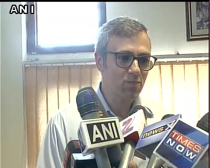 Omar A to reporter: Are you from Times Now? Reporter: News X. Omar A: Same thing. :-D https://t.co/qZ7k20y1z6