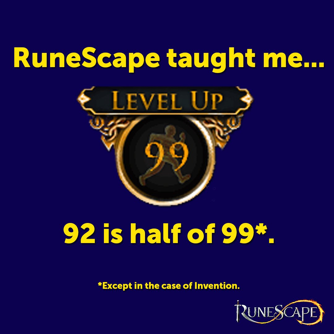 Runescape On Twitter Runescape Taught Me 1337