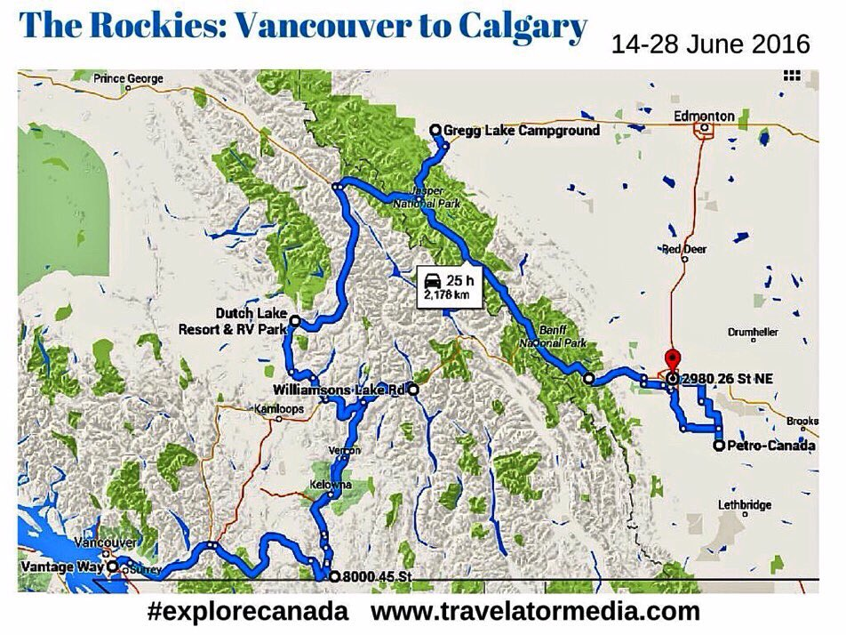 Zoe Dawes On Twitter Join Us On At Travelatormedia Roadtrip - Vancouver-on-us-map