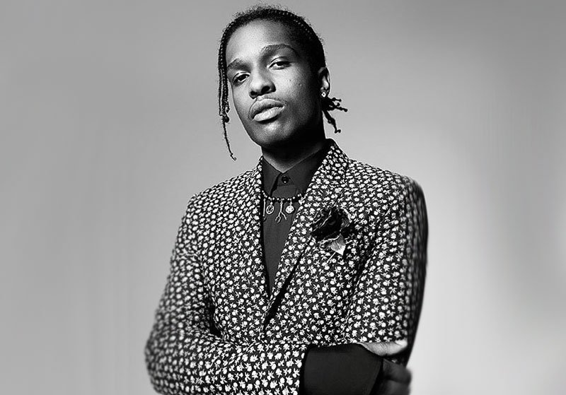 741fa8f3e90 A ap rocky is the new face of dior homme s winter 16 17 campaign ...